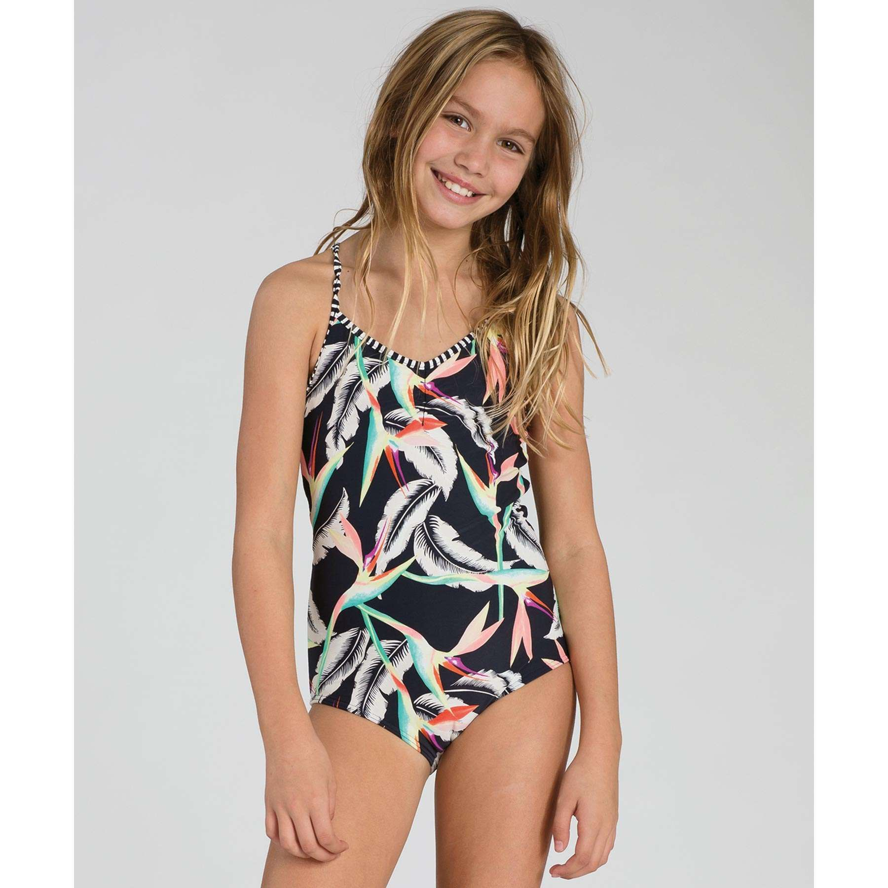 a5621a93879f6 Billabong Girls Swimwear Ticket To Paradise One Piece