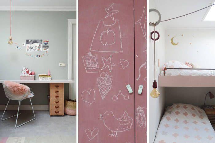 Kinderkamer hoogslaper kinderkamerstylist inspiratie bb