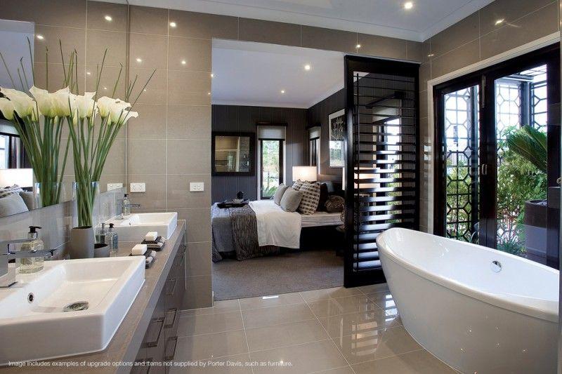 Shutter Door To Bathroom  For My House♡  Pinterest  Shutter Beauteous Master Ensuite Bathroom Designs Inspiration