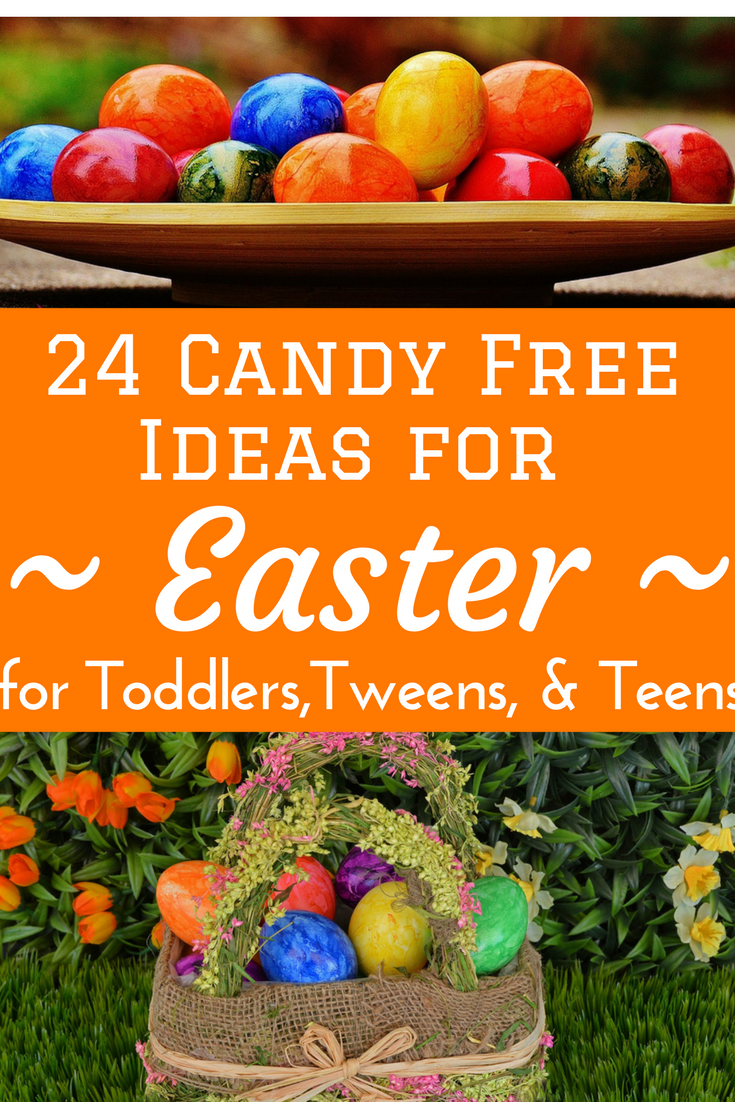 24 candy free easter egg basket ideas for all ages baskets candy free sugar free easter easter baskets easter eggs filler ideas negle Image collections