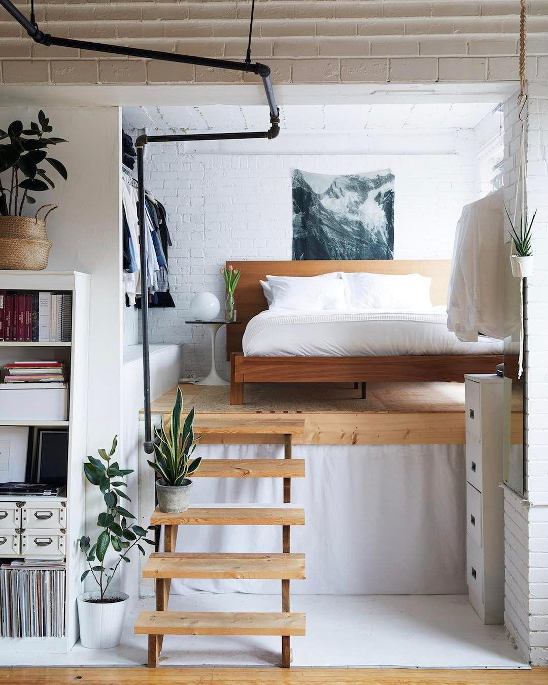 2 bedroom loft  Pin by Allison Venning on h o m e u s t u d i o  Pinterest  Bed