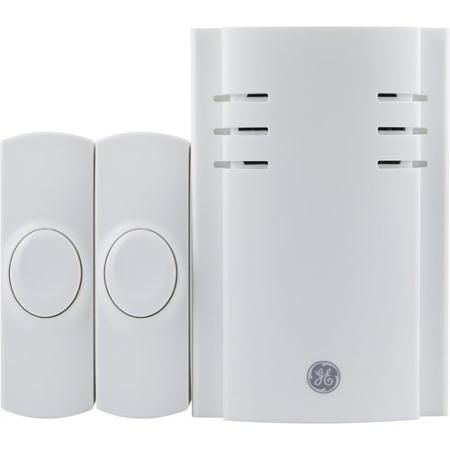 GE Plug In 2-Button Door Chime   Interior   Wall outlets ...