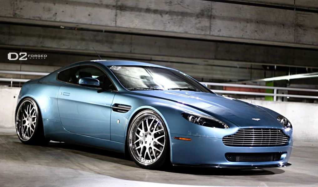"""V8 Vantage in Glacial Blue with 20"""" (I'll take"""