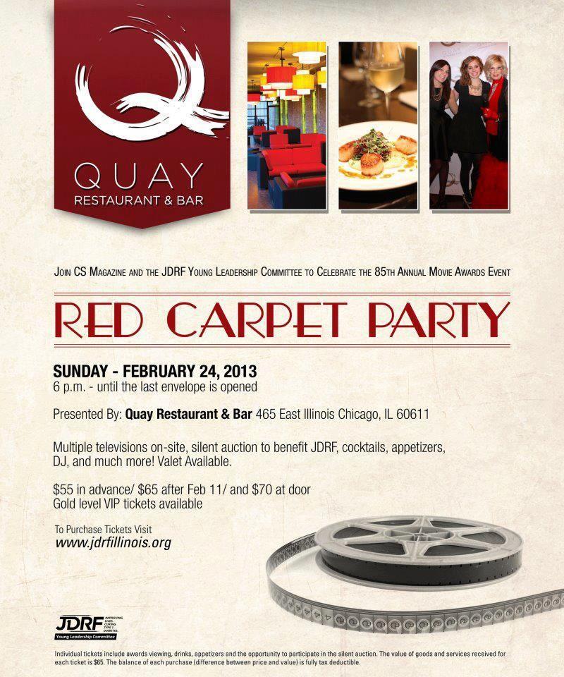 What fun! A YLC Red Carpet Party