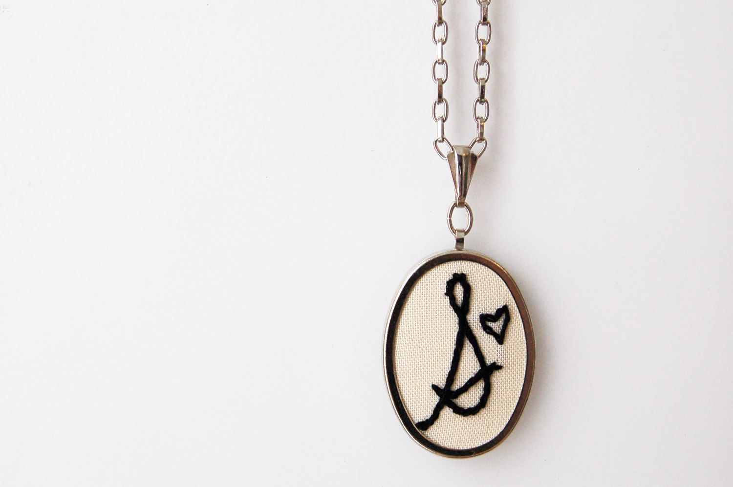 Personalized initial necklace from Merriweather Council. #erindollar
