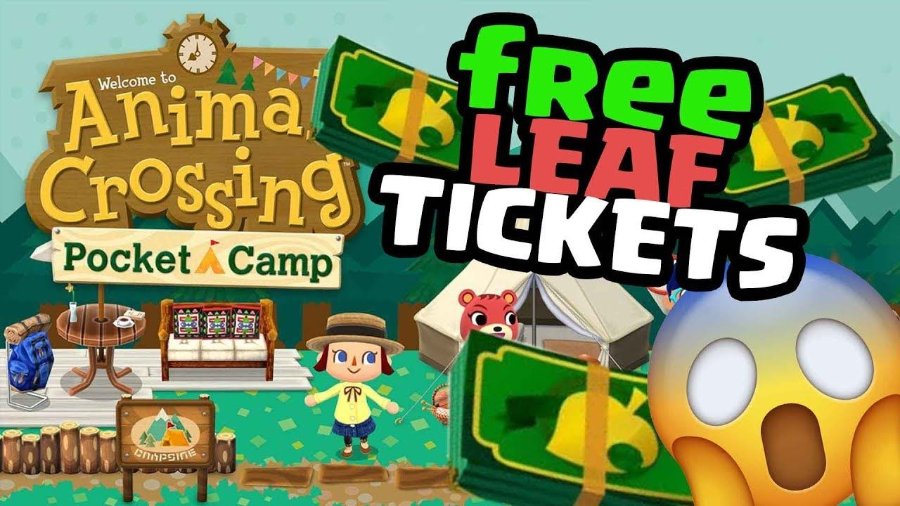 Animal Crossing Pocket Camp Hack Free Leaf Tickets Hack
