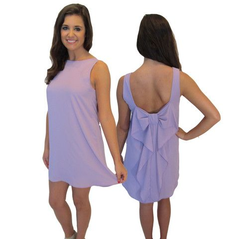 You'll go straight to Death Valley after seeing our Bows & Belles Dress... Perfect for a Clemson Tailgate!