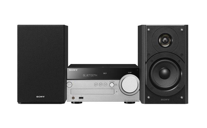 Sistema micro hi fi wireless sony audio video sony