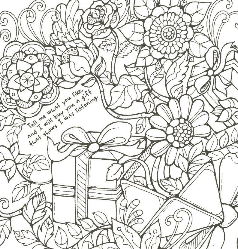 Five Love Languages Coloring Book
