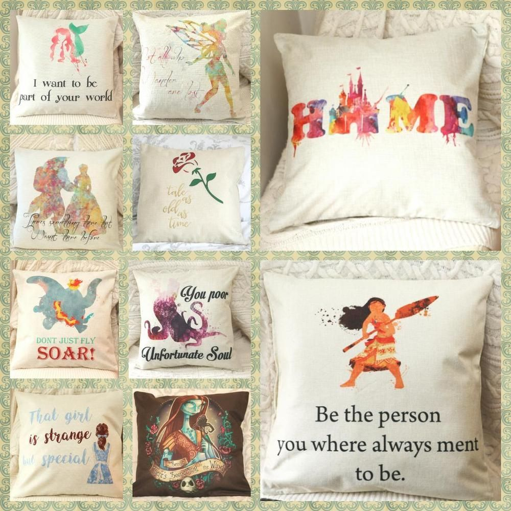 Pin On Cushions Disney