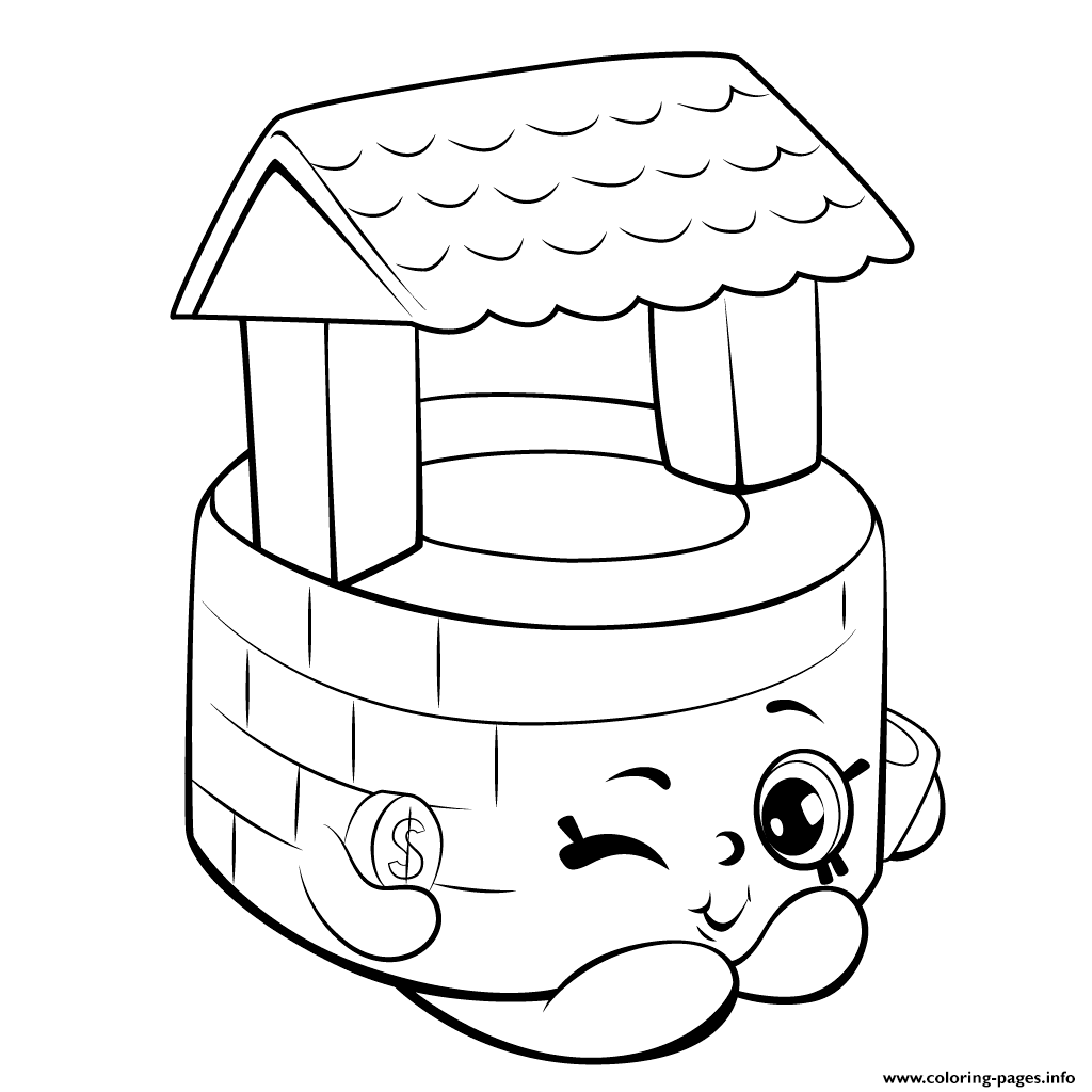 Print Wishing Well shopkins season 5 coloring pages | SHOPKINS ...