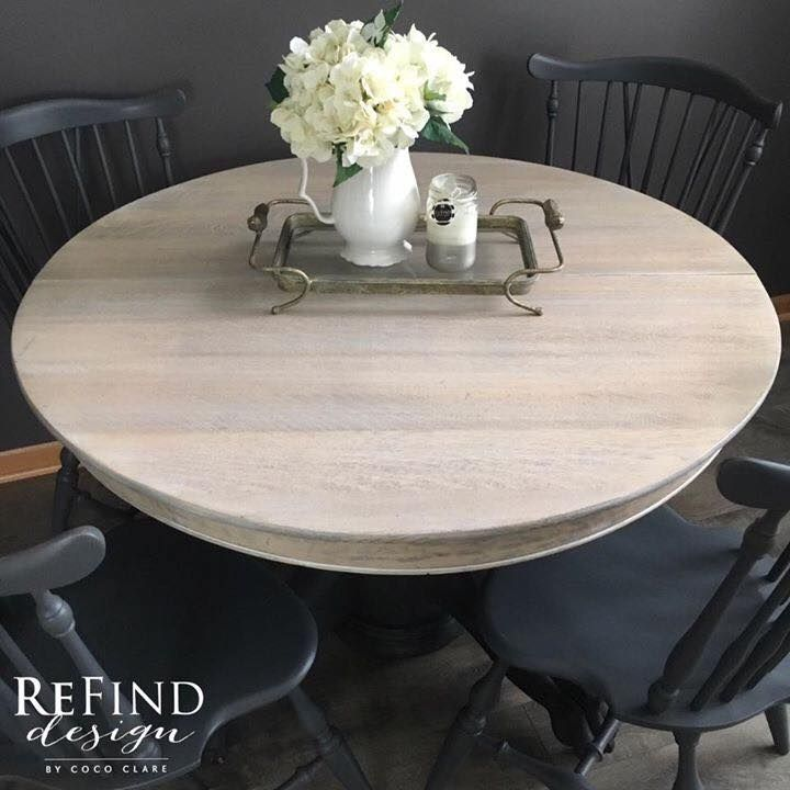 Ethan Allen Dining Table Makeover