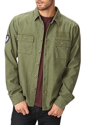 Classic Military Shirt 21 Men 2000051208 Camisa