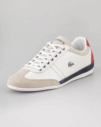 Lacoste Misano Tricolor Leather