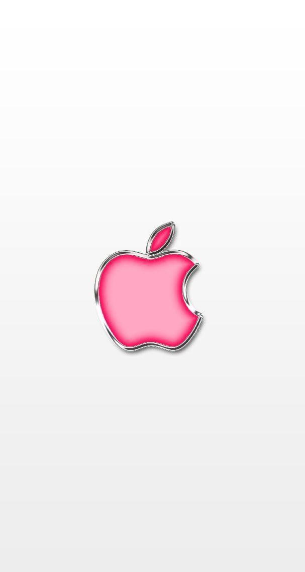 apple logo wallpaper pink. pink apple logo. see more. wallpaper iphone logo