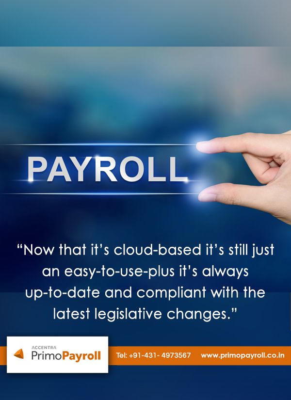 """Customer review about our Primo payroll software """"We run"""