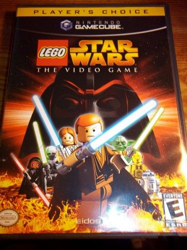Lego Star Wars The Video Game Nintendo Gamecube Video Game Pc