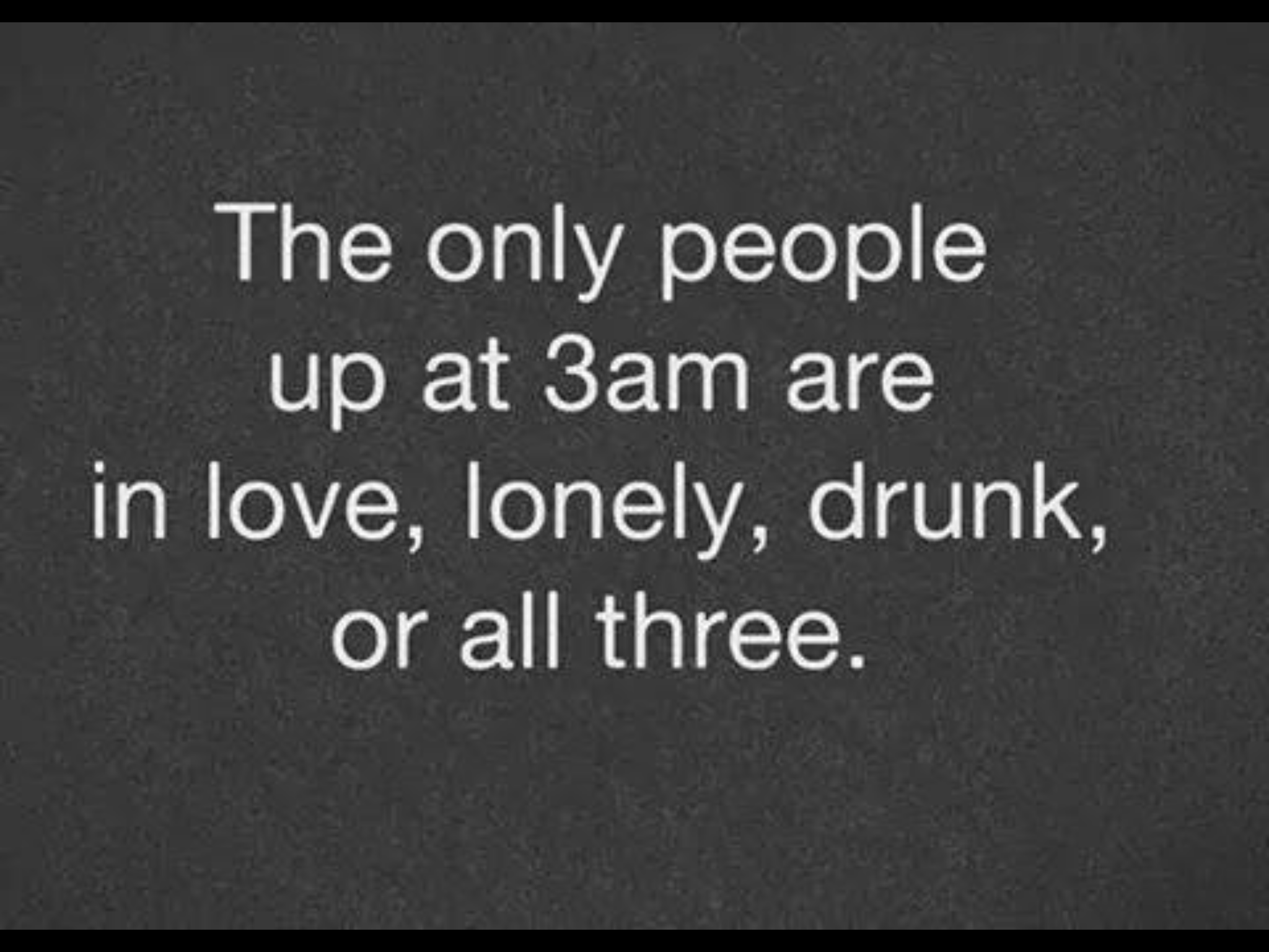 The only people