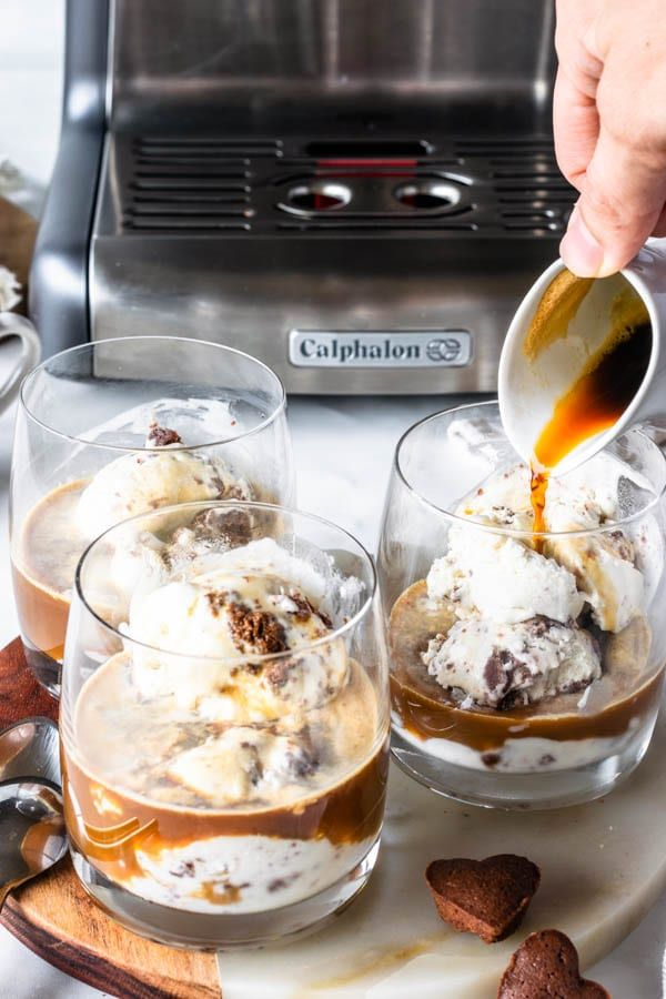 Affogato Recipe #espressocoffee