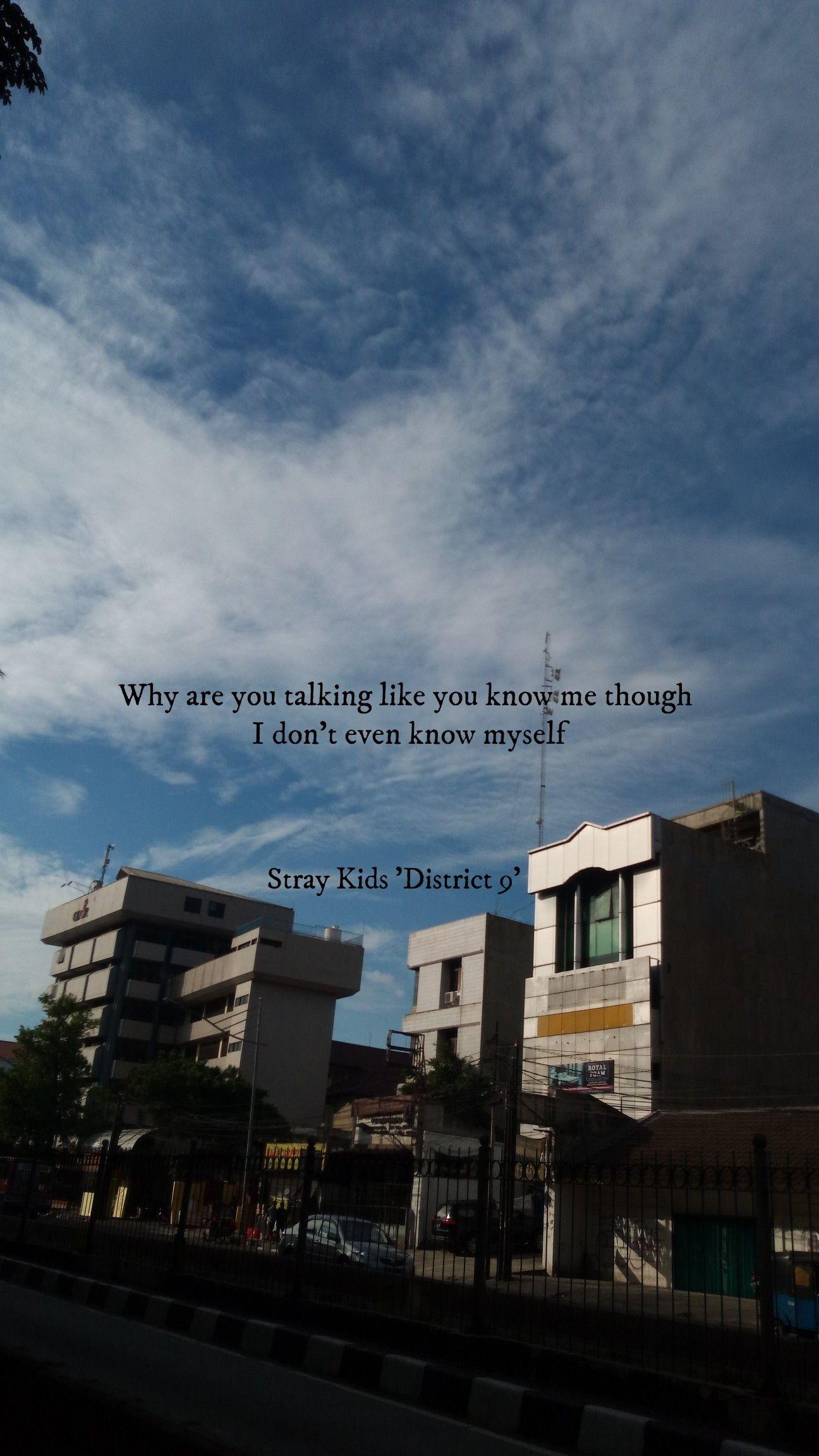Kpop Lyrics Stray Kids District 9 Kpop Lyrics Straykids Stray
