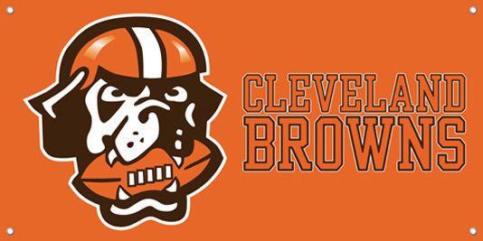 Cleveland Browns Vinyl Banner Sign Printed 47 Cleveland