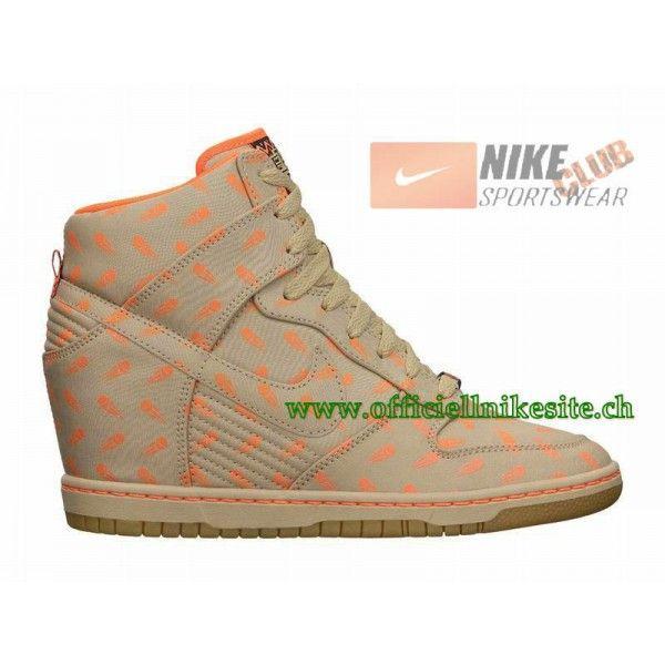 Nike Dunk Sky Hi BHM GS Chaussures Nike Pas Cher Pour Femme LinenTotal