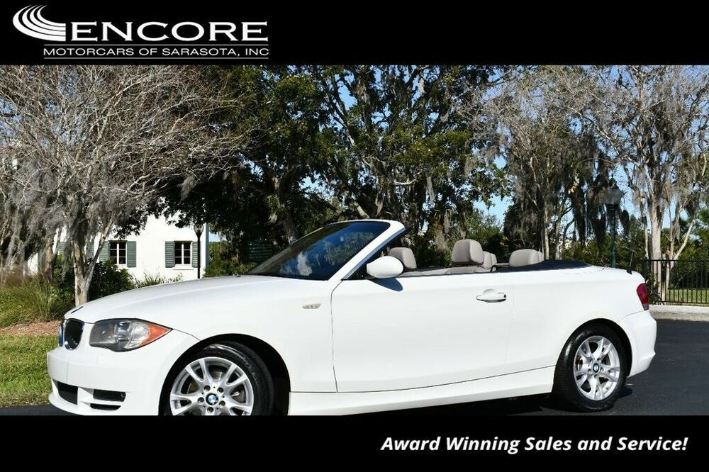 2009 Bmw 1series 128i Convertible W/premium And Cold