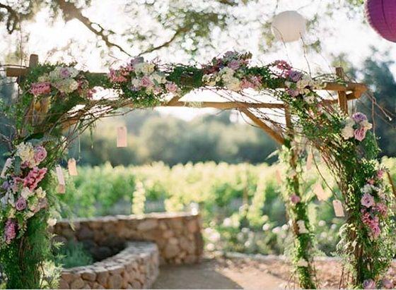 Jane Austen Wedding Rose Arbor. Keywords: #weddings #jevelweddingplanning Follow Us: www.jevelweddingplanning.com  www.facebook.com/jevelweddingplanning/