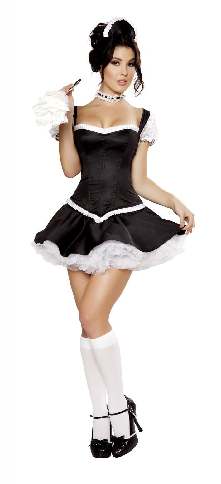 Sexy Latina French Maids