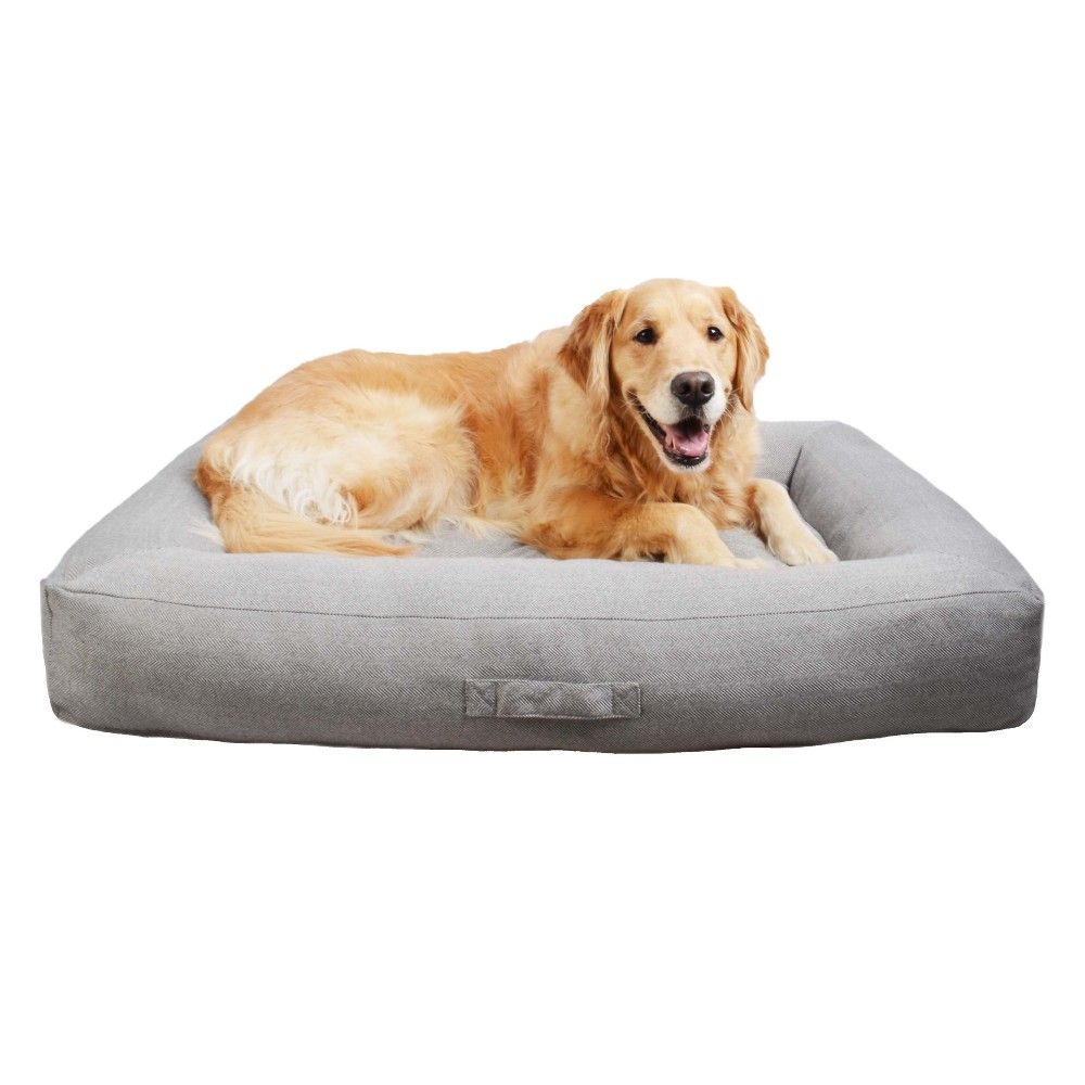 Rectangular Dog Bolster Xl Boots Barkley