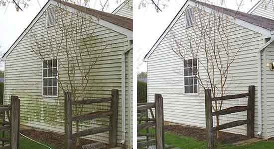 How To Clean Vinyl Siding Using Bleach Outside