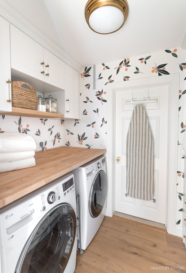 Our Laundry Room Makeover Using IKEA Finds - All the Details