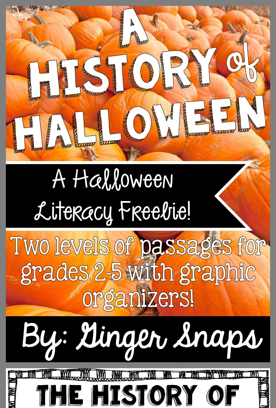 Pin By Emily Heitke On My 3rd Grade Classroom Halloween Literacy Halloween Classroom Activities Fourth Grade Writing [ 1662 x 1125 Pixel ]