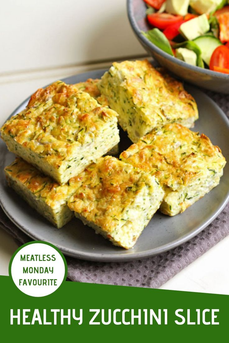 Healthy Zucchini Slice images