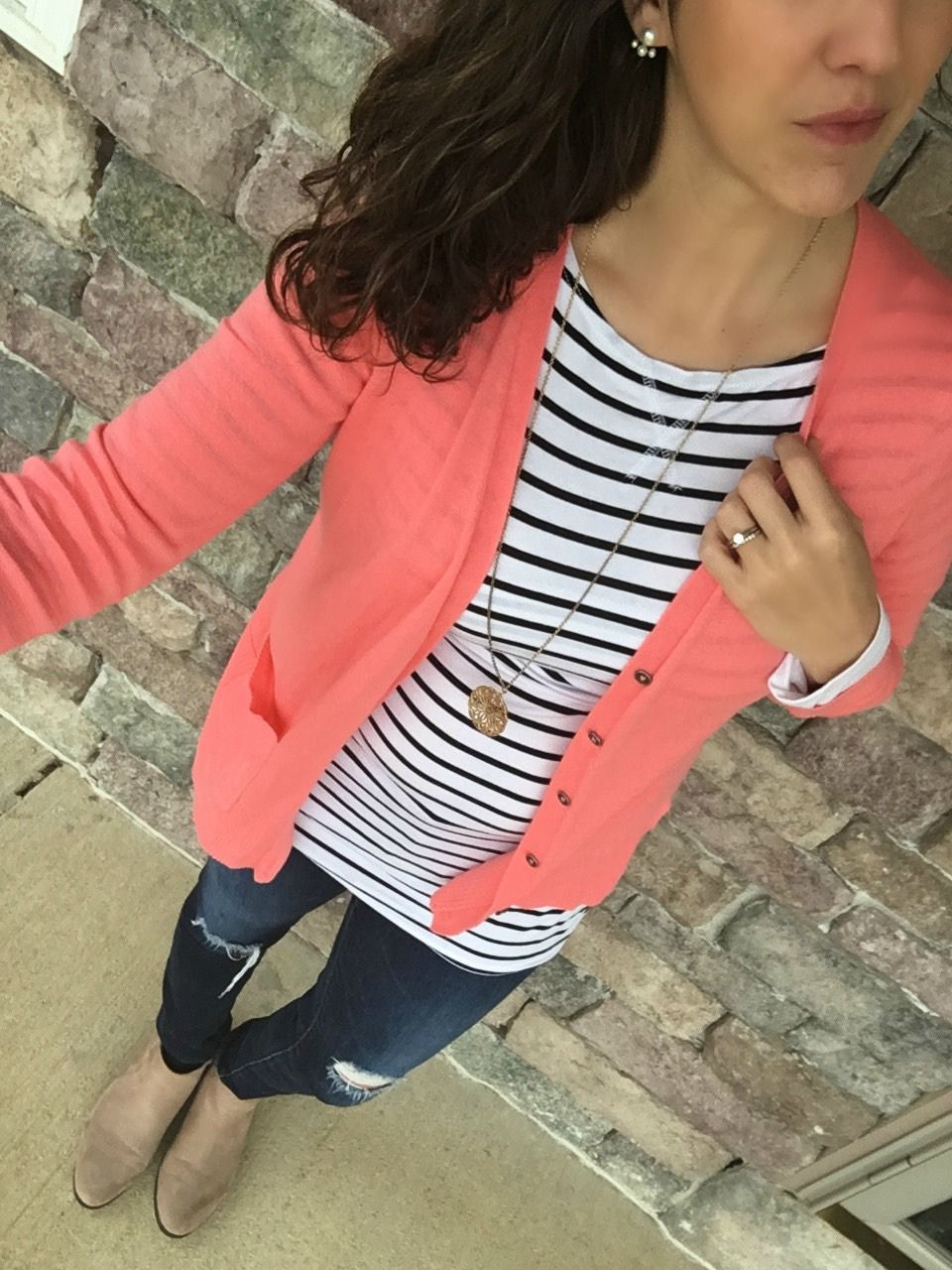 5 Ways to Style a Striped Shirt – momma in flip flops