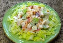 10 Easy Mexican Tweaks to Your Thanksgiving Day Meal: Mexicanize your Waldorf Salad.