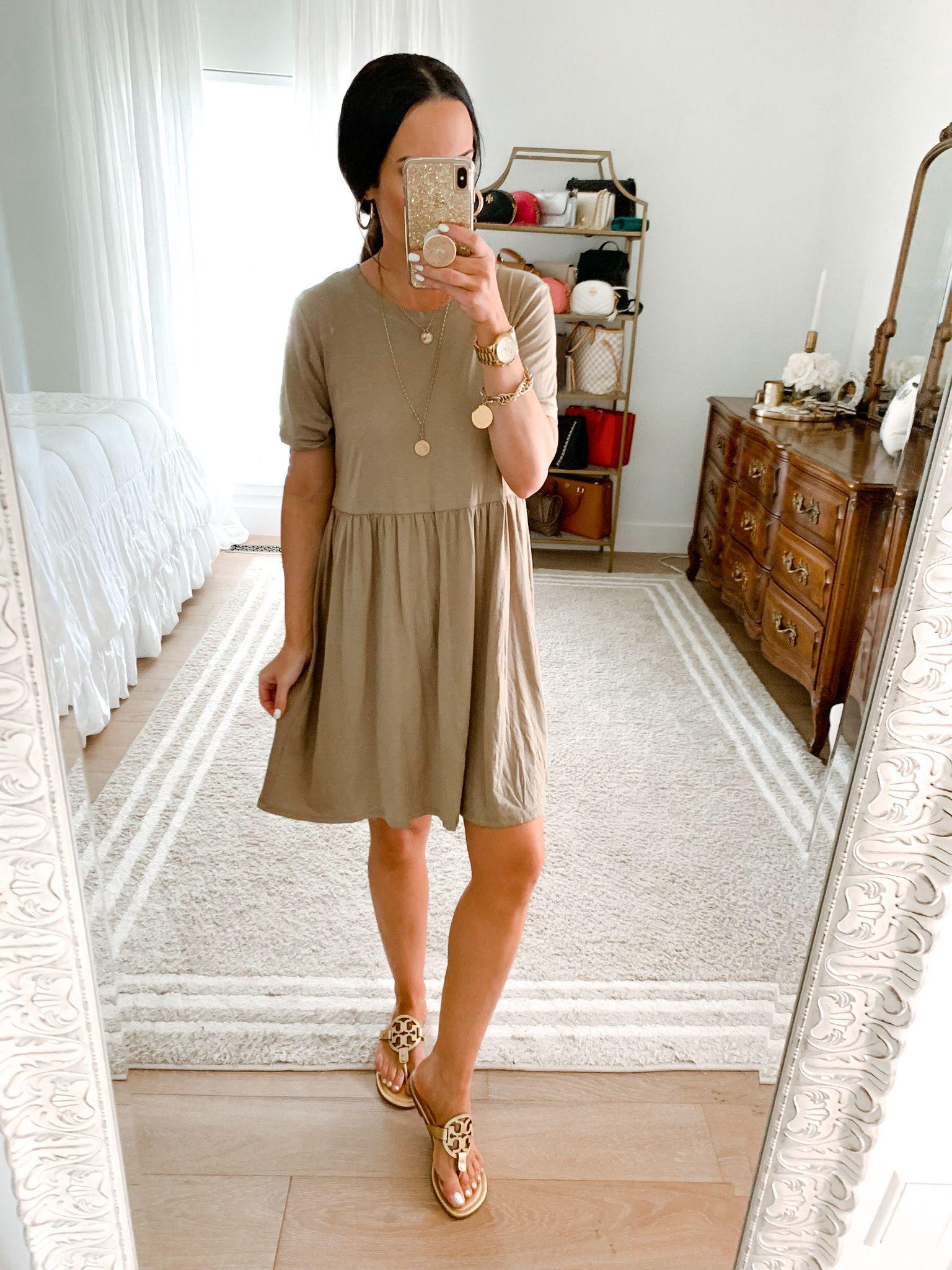 New June Target Try On The Double Take Girls Midi Short Sleeve Dress Camo T Shirt Dress Black Shirt Dress [ 2048 x 1536 Pixel ]