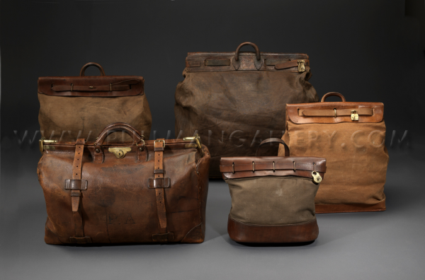 487a6f5f2664 A collection on vintage Louis Vuitton  Steamer  bags