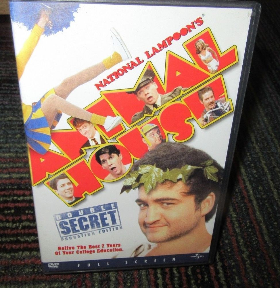 National Lampoon S Animal House Dvd Movie Double Secret Probation Edition Guc National Lampoon S Animal House Animal House National Lampoons