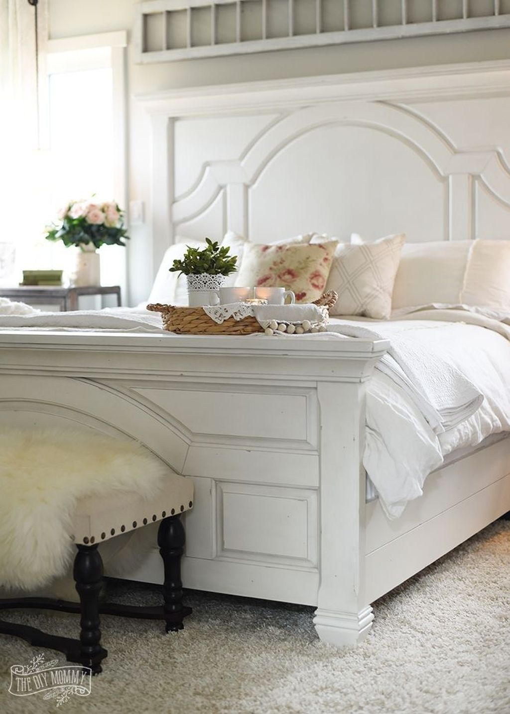43 Cozy Bedroom Furniture Design For Farmhouse Style