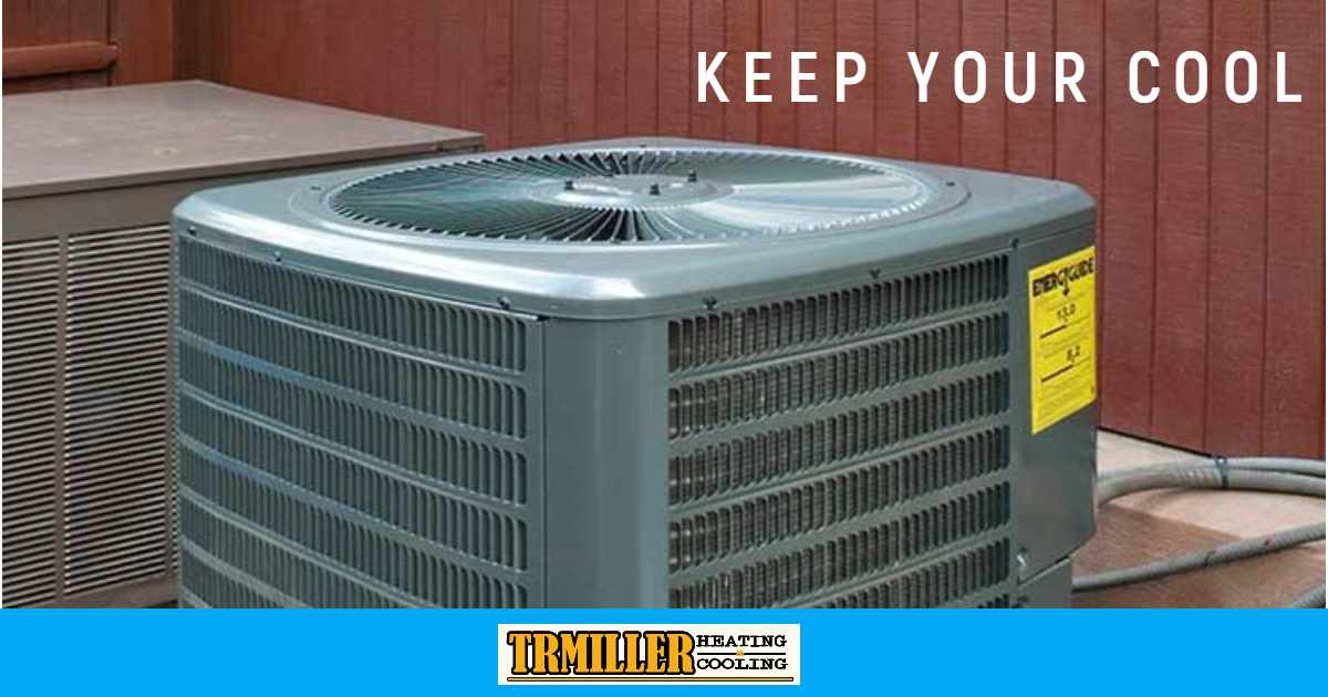 Air conditioners cool homes by removing heat and moisture