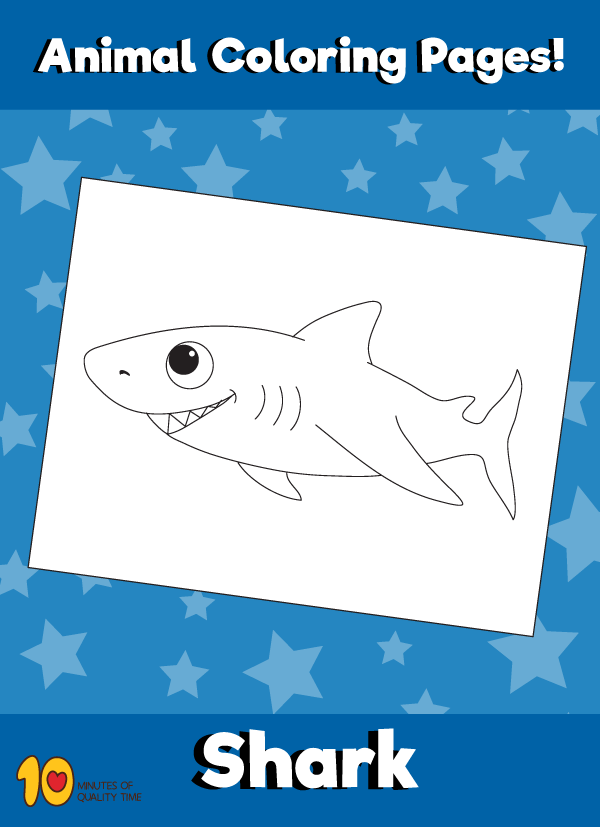 Shark Coloring Page Animal Coloring Pages Shark Coloring Pages