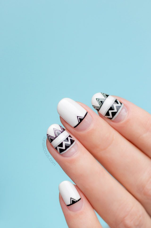 8 Easy Summer Nail Designs to Try This Weekend | Pinterest | Aztec ...