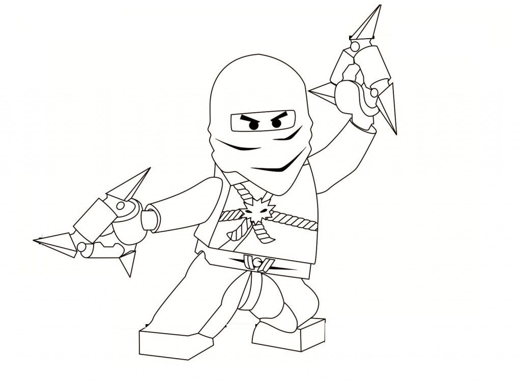 Free Printable Ninjago Coloring Pages For Kids | Pinterest
