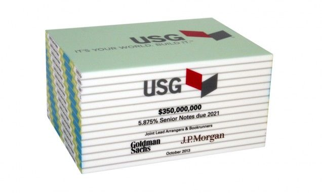 USG-drywall-lucite-tombstone-the-corporate-presence | Deal Toys ...