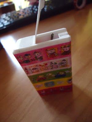 Contenitore per forcine da scatolina di Tic Tac