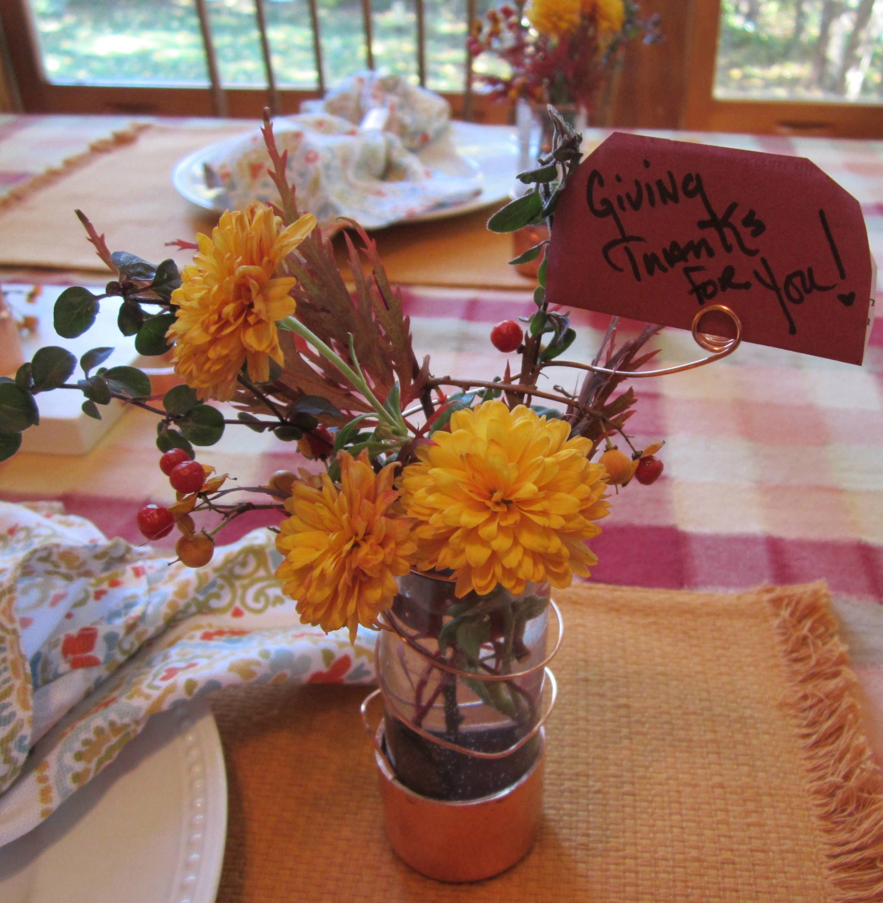 How to Make a Holiday Table Flower Vase The Home Depot