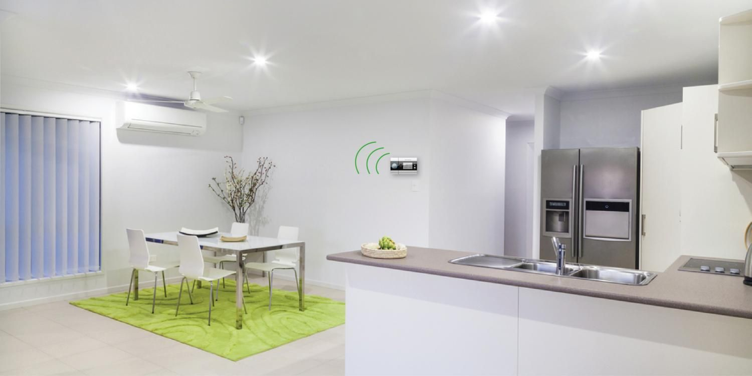 A Mini Split Air Conditioner Goes Perfectly With A Subtle Modern Design Many Of The Mini Split A C Units Come In Multiple Colors Th Aircon Home Decor Interior