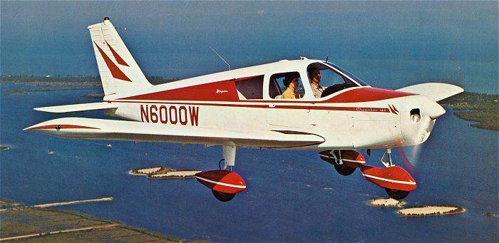 1966 Piper Cherokee Pa 28 140 Piper Aircraft Vintage Aircraft