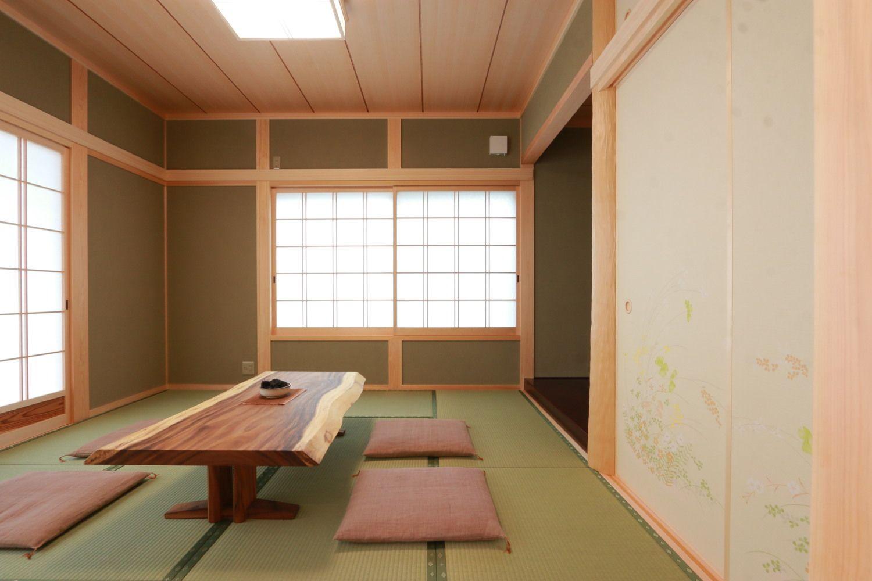 和室事例集 香川で自然素材の木の家 注文住宅を建てる大河内工務店